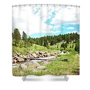 Upcreek  Shower Curtain