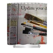 Update Your Decor Shower Curtain