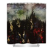 Upheaval Of The Night  Shower Curtain