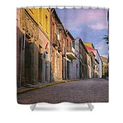 Uphill In Avila Shower Curtain
