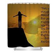 Uplifting222 Shower Curtain