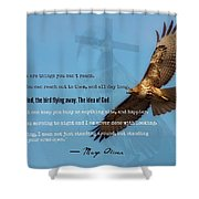 Uplifting223 Shower Curtain