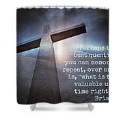 Uplifting228 Shower Curtain