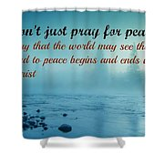 Uplifting401  Shower Curtain