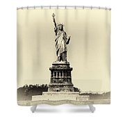 Upon Arrival Shower Curtain