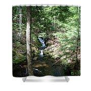 Upper Adler Falls 4405 Shower Curtain