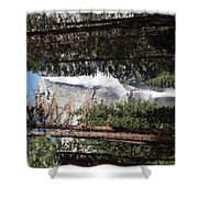 Upper And Lower Yosemite Falls Shower Curtain