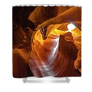 Upper Antelope Canyon Beauty Natural Shower Curtain
