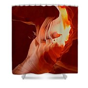 Upper Antelope Canyon Textures Shower Curtain