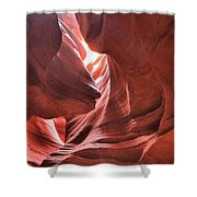Upper Antelope Lights Shower Curtain