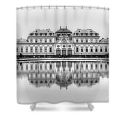 Upper Belvedere Palace, Vienna Shower Curtain