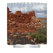 Upper Box Canyon Ruin Shower Curtain