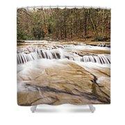 Upper Campbell Falls Shower Curtain