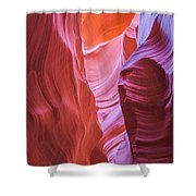 Upper Canyon 31 Shower Curtain