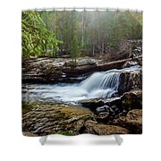 Upper Copeland Falls Shower Curtain
