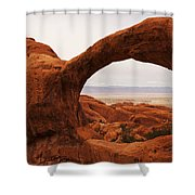 Upper Double O Shower Curtain