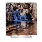 Upper Jemez Falls New Mexico Shower Curtain