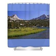 Upper Pine Lake Shower Curtain