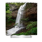 Upper Piney Falls Shower Curtain