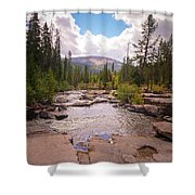 Upper Provo, Early Fall Shower Curtain