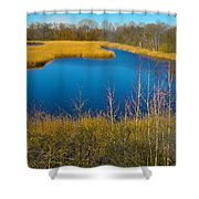 Upper Roxborough Reservoir Shower Curtain