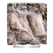 Upper Terrace Closeup Shower Curtain
