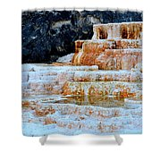 Upper Terraces Shower Curtain
