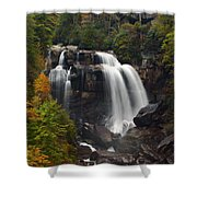 Upper Whitewater Falls - Nc Shower Curtain