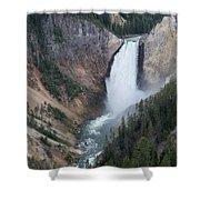Upper Yellowstone Shower Curtain