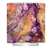 Upside Down Jellyfish And The Chicken Close Up Shower Curtain