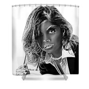 Uptown Girl Shower Curtain