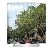 Uptown Ny Street Shower Curtain