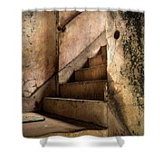 Uptown Stairs Shower Curtain