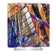 Urban Abstract 157 Shower Curtain