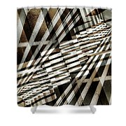 Urban Abstract 218 Shower Curtain