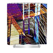 Urban Abstract 224 Shower Curtain