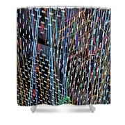 Urban Abstract 236 Shower Curtain