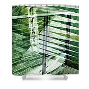 Urban Abstract 250  Shower Curtain