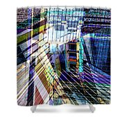 Urban Abstract 304 Shower Curtain