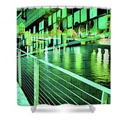 Urban Abstract 339 Shower Curtain