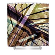 Urban Abstract 348 Shower Curtain