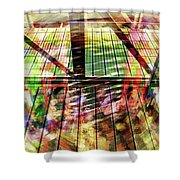 Urban Abstract 369 Shower Curtain