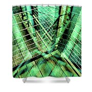 Urban Abstract 405 Shower Curtain