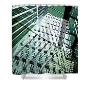 Urban Abstract 442 Shower Curtain
