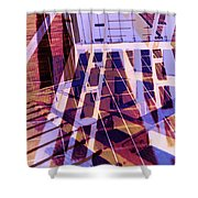 Urban Abstract 449 Shower Curtain