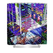 Urban Abstract 476 Shower Curtain