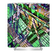 Urban Abstract 500 Shower Curtain
