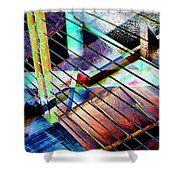 Urban Abstract 53 Shower Curtain