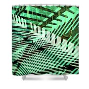 Urban Abstract 561 Shower Curtain