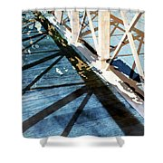 Urban Abstract 706 Shower Curtain